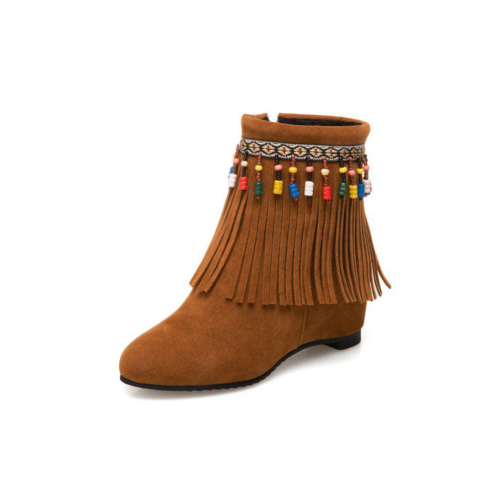 Fashion Tassel Bead Boots for Students