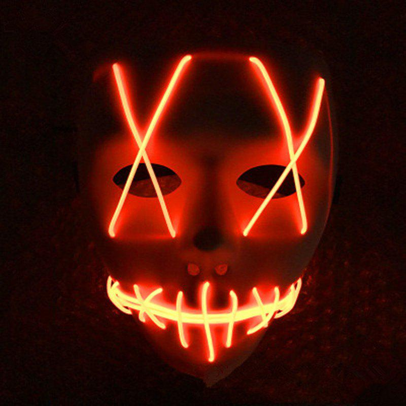 Fancy LED Light Up Funny From Purge Election Great Halloween Mask