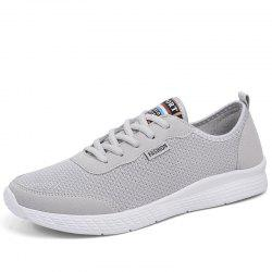 Men'S Lightweight Hollow Breathable Mesh Sports Running Shoes -