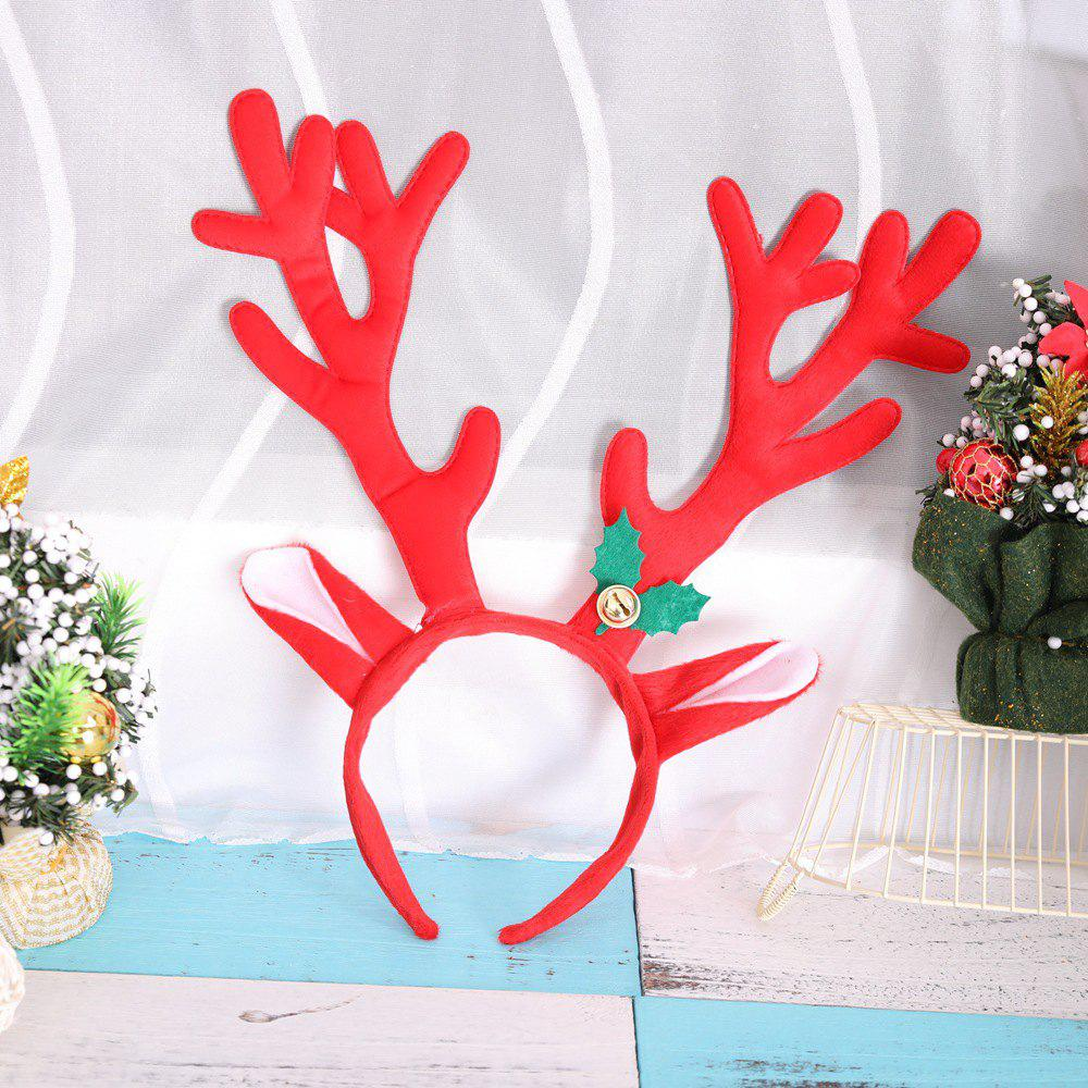 Big Antlers Christmas Headbands Cute Adults Kids Xmas Party Cosplay Supplies