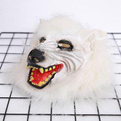 Wolf Masks Halloween Headgear Party Props Prank Horror -
