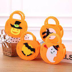 Halloween Pumpkins Gift Bags For Ghost Festival Candy -