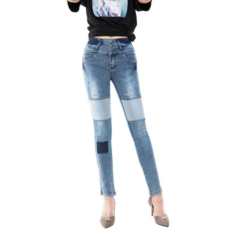 Hot Jeans for Women Black high waist Jeans Jeans Stretch Jeans Woman more Woman High