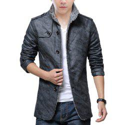 Autumn and Winter Men'S Fur Integrated Leather Clothing Fashion Large Size Jacke -