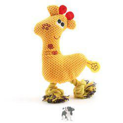 Pet Plush Toy Corn Grain Deer Vocal Dog Toy -