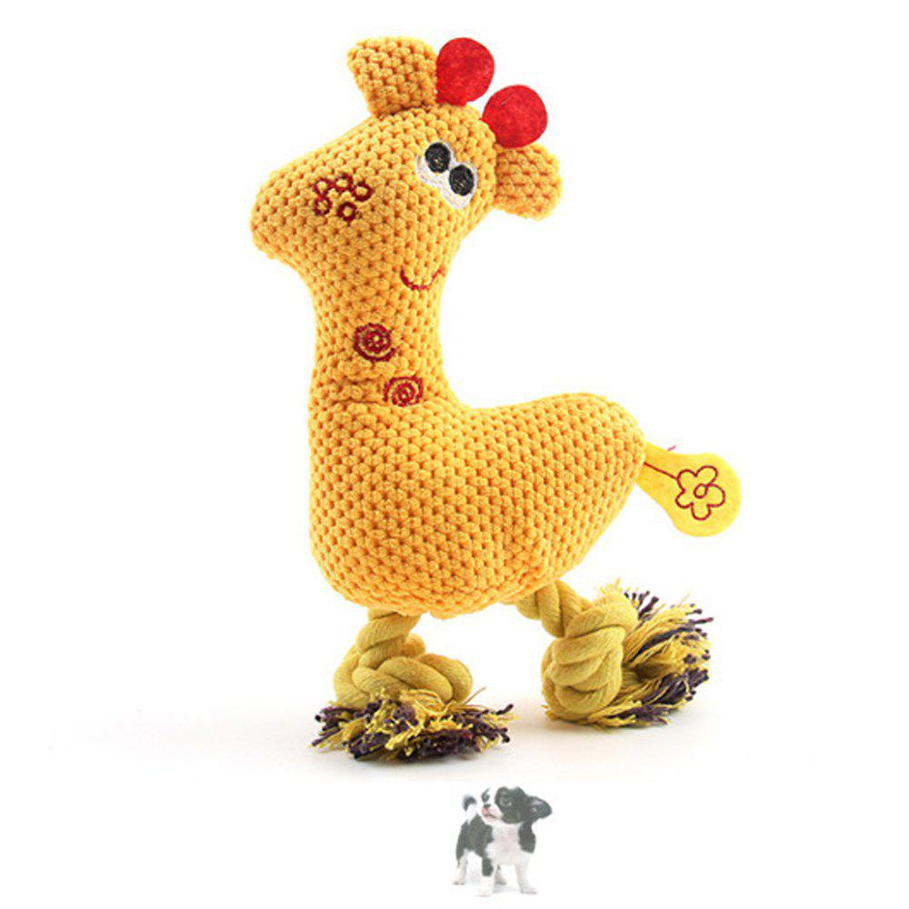 Discount Pet Plush Toy Corn Grain Deer Vocal Dog Toy