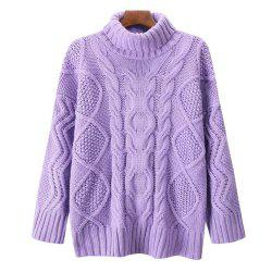 Women's Loose Long Sleeved Sweater -
