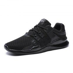 ZEACAVA Men's New Large Size Flying Weaving Sports Shoes -