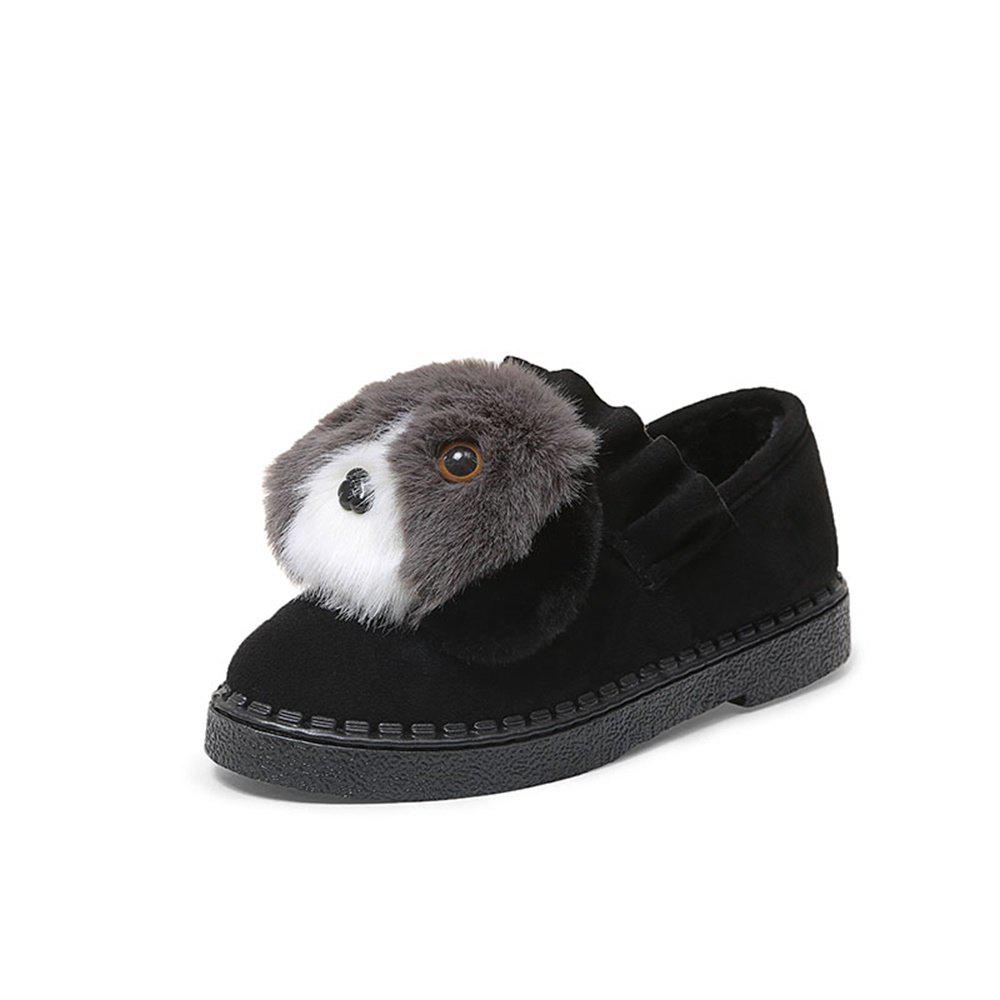 Online Lovely Dog Warm Comfortable Flat Shoes