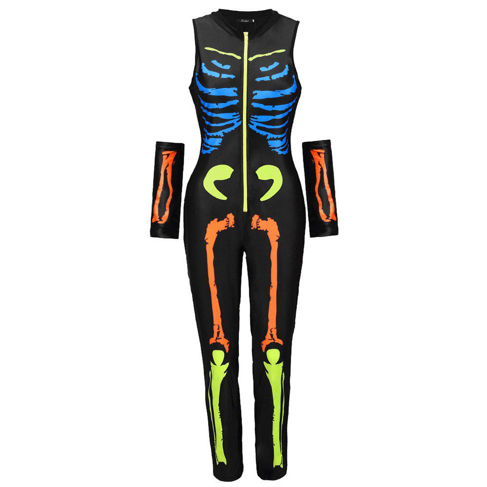 Latest Halloween Skeleton Skeleton Suit