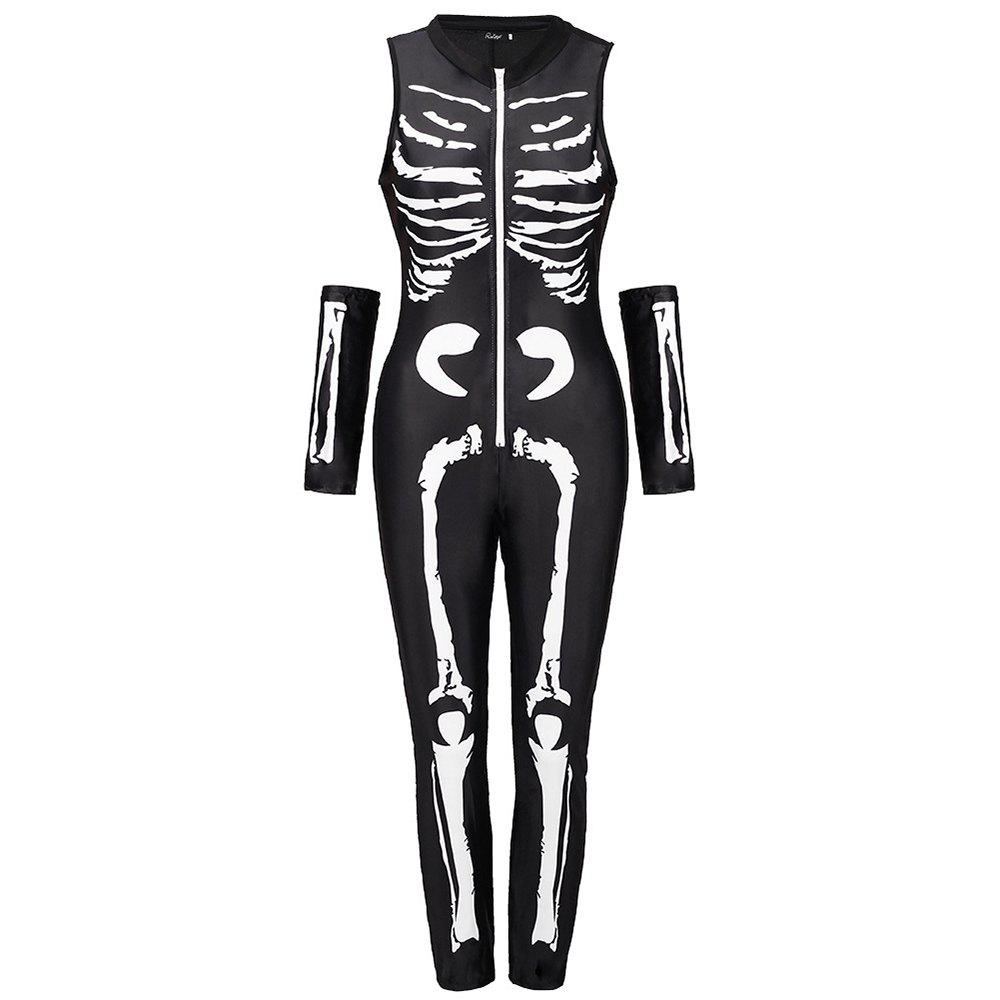 Fashion Halloween Skeleton Skeleton Suit