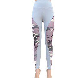 Womens High Waist   Printing Leggings Sexy Big Hips for Spandex Leggings -