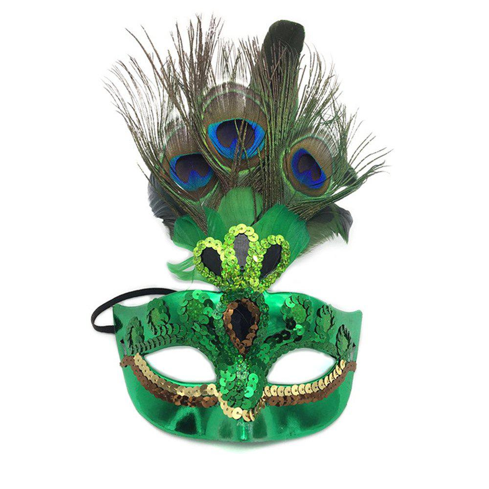 Buy Halloween  Mask for beauty  Women Party Costume Accessory fashion Ball Mask