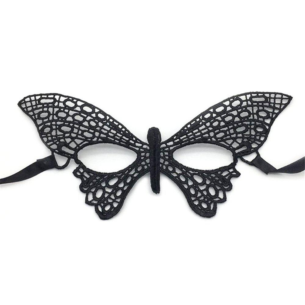 Trendy Halloween Masquerade Creative Party Supplies for beauty Women  Sexy  lace Mask