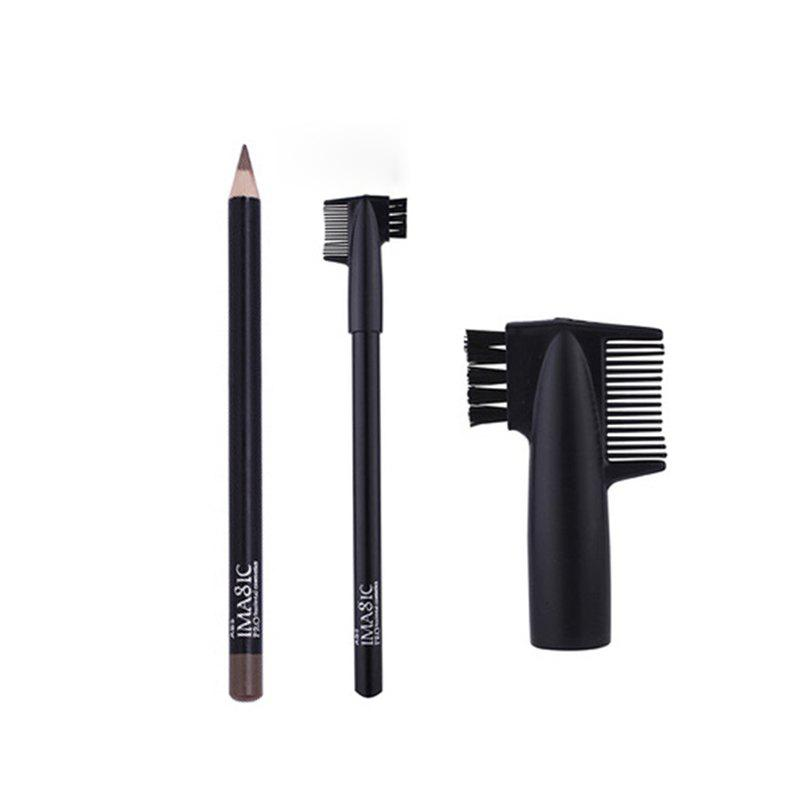 Buy IMagic Waterproof Sweatproof Durable Not Hazy Natural Eyebrow Pencil Tool