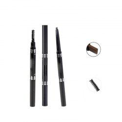 Rotating Eyebrow Brush Waterproof and Sweatproof Not Blooming Eyebrow Pencil -