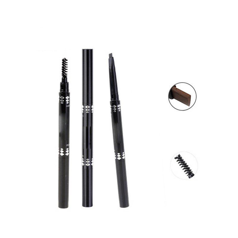 Best Rotating Eyebrow Brush Waterproof and Sweatproof Not Blooming Eyebrow Pencil