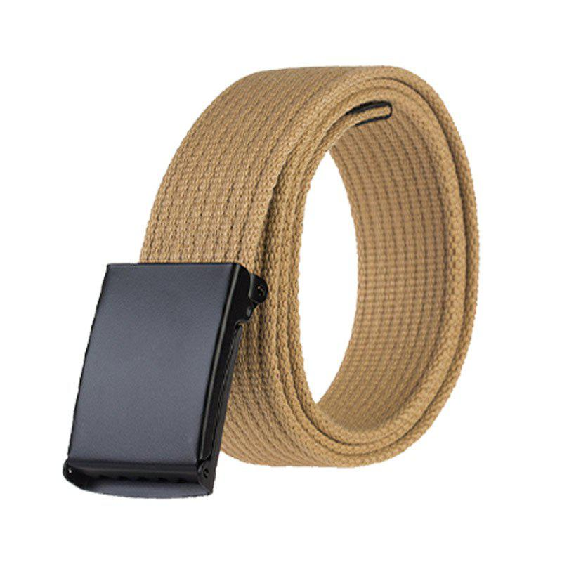 Trendy COWATHER New Outdoor Leisure Tactical Multi-Function Buckle Nylon Canvas Belt