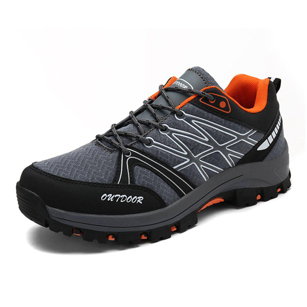 Trendy Outdoor Hiking Shoes Breathable Net Face Back To The River Shoes Non-Slip Rubber