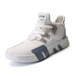 High Quality Men'S Shoes Couple Sports Shoes Breathable Net Casual Shoes -
