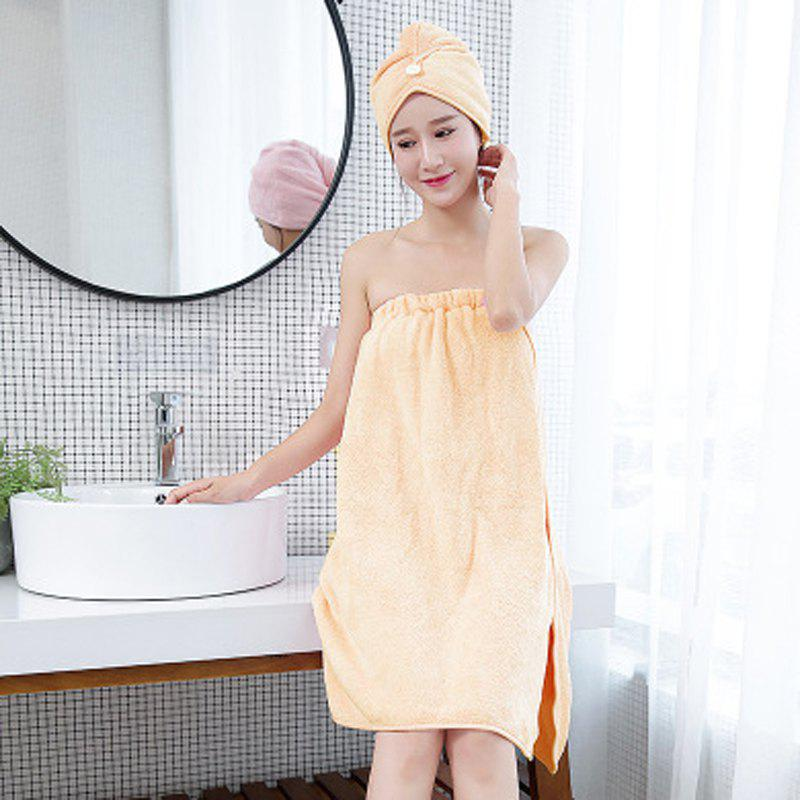 Discount Absorbent Bath Towel Thickening and Quick-Drying Bath Towel Bathrobe