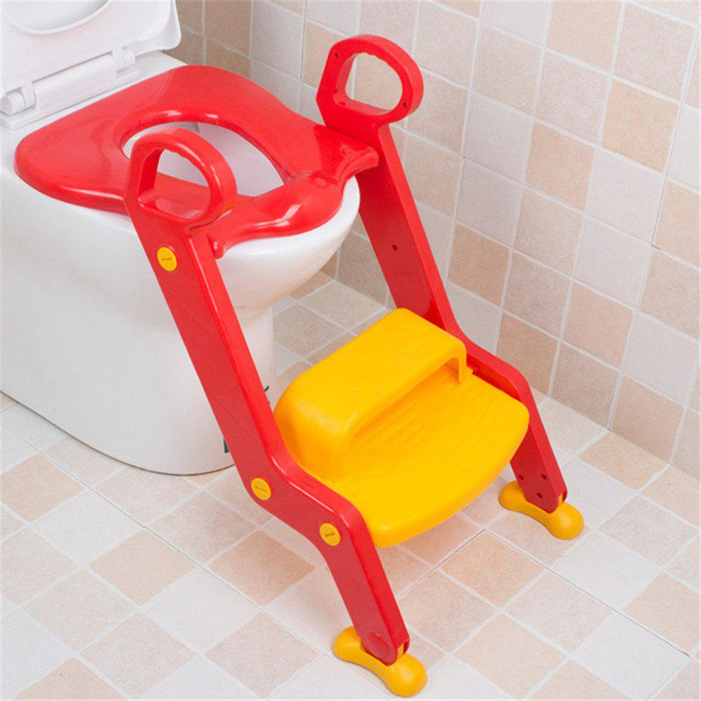 Hot Children Potty Baby Seat With Adjustable Ladder Infant Toilet Training Folding