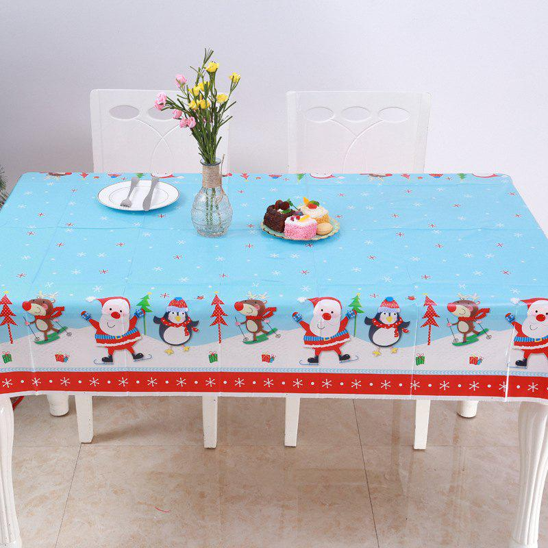 Kitchen Table Decorations For Christmas: 2019 Christmas Tablecloth Kitchen Dining Table Decorations