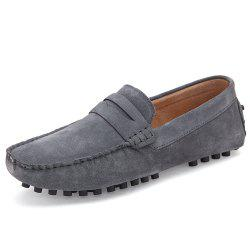 Leather Men'S Driving Shoes -