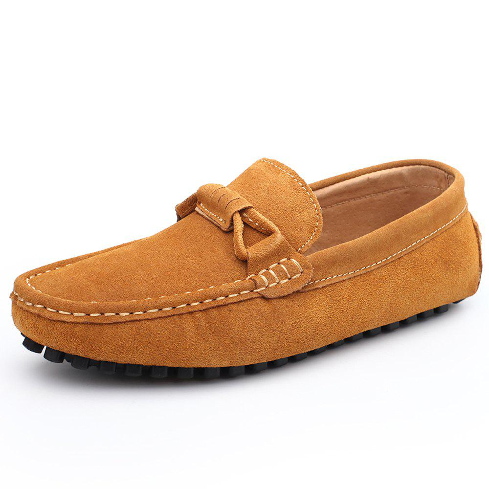 Store Men'S Shoes with Flat Bottomed Leather