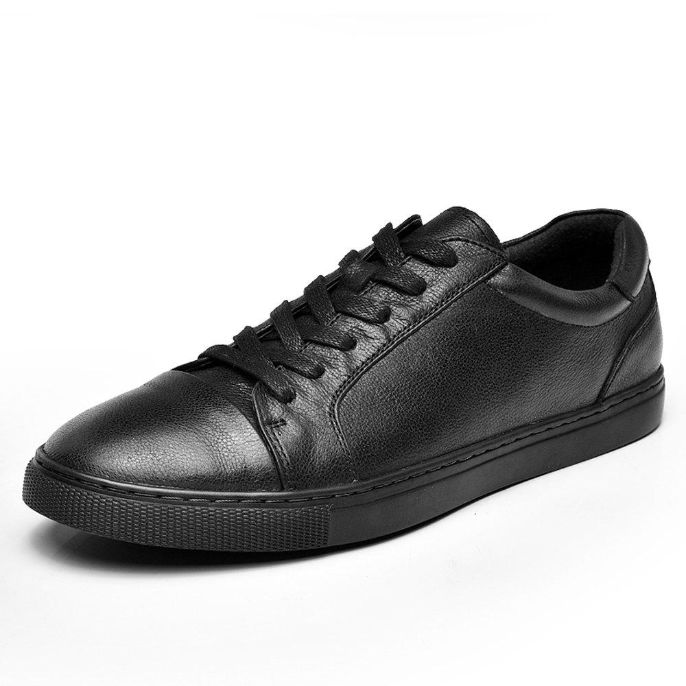 Discount Black Low Flat Bottomed Men'S Shoes