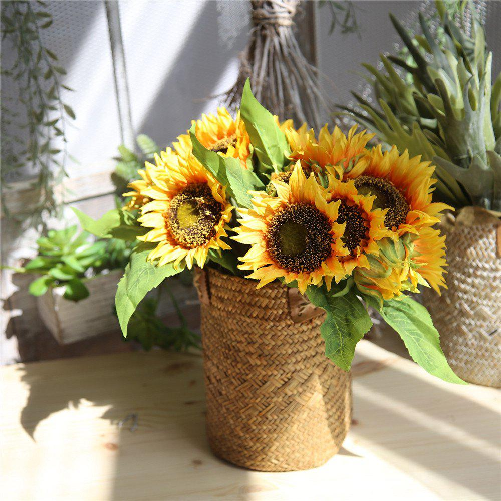 Outfit Bridal Bouquet Artificial Flower Sunflower Home Wedding Decorations