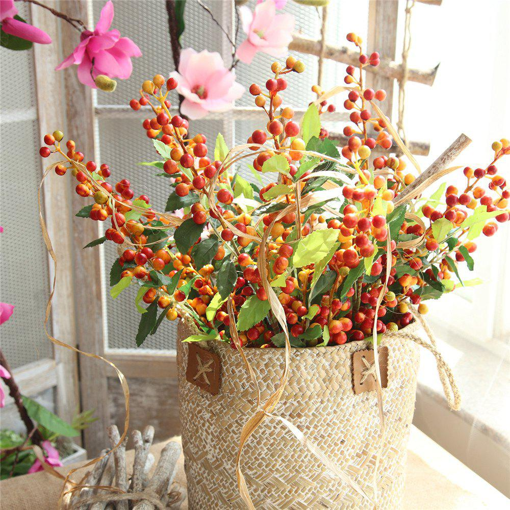Trendy Vivid Little Berries Artificial Flower Home Wedding Party Decorations