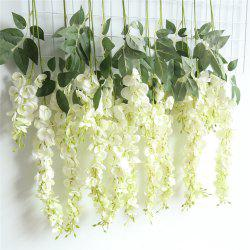Wisteria Sinensis Artificial Flower Wedding Party Home Wall Hanging Decorations -