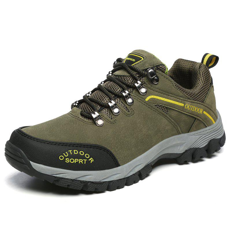 New Men'S Breathable Wear-Resistant Non-Slip Outdoor Sports Hiking Shoes