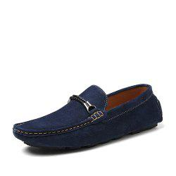 Pigskin Suede Men'S Driving Shoes -