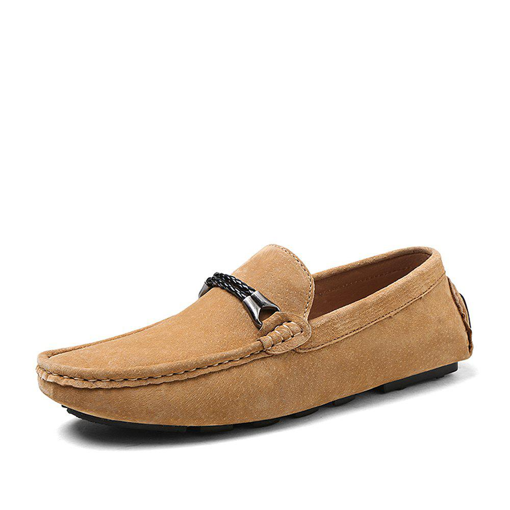 Hot Pigskin Suede Men'S Driving Shoes