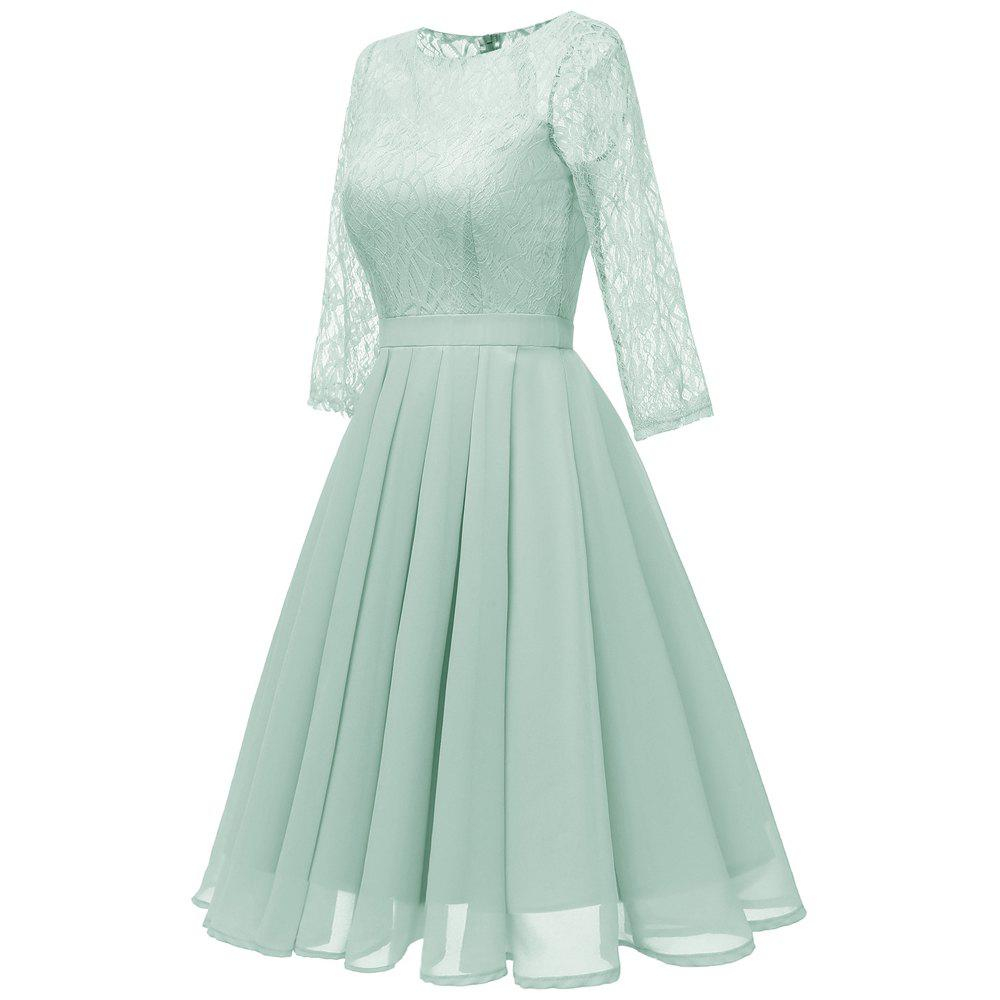 Buy Seven Points Sleeves Lace Skirts