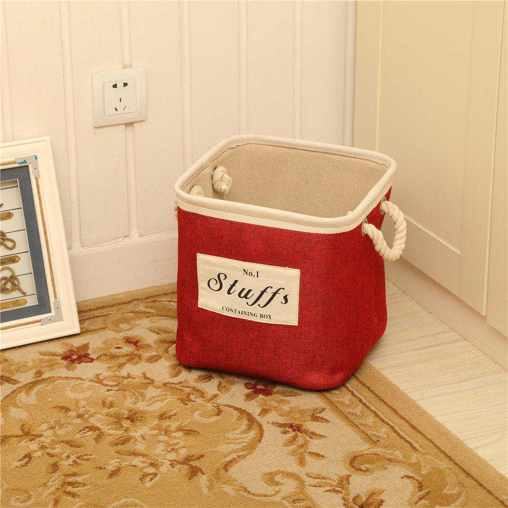 Latest Storage Bucket Brief Style Linen Creative Environmental Clothes Container
