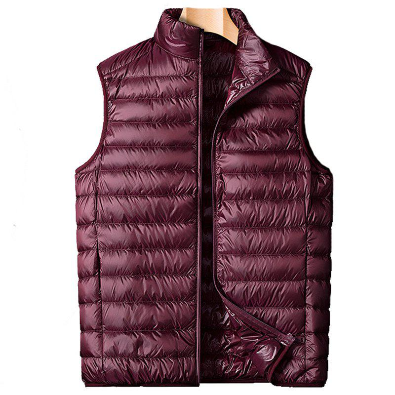 Unique Autumn Men Fashion Vest Coat
