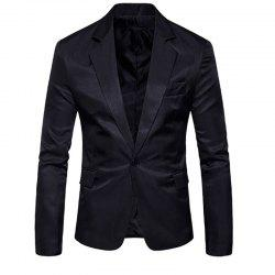 Men's Fashion Slim Solid Color Suit -