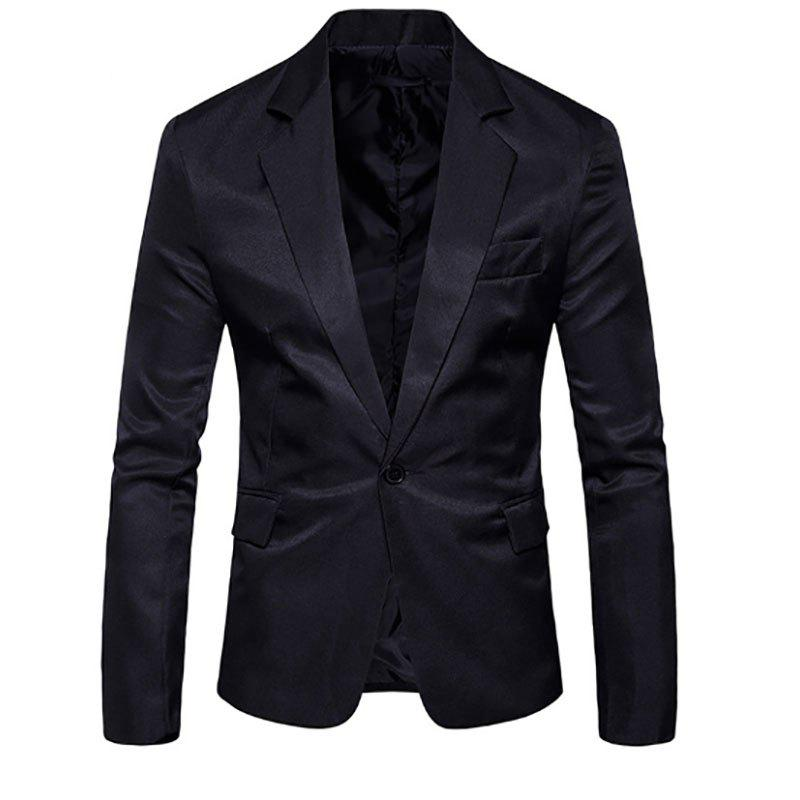 Outfits Men's Fashion Slim Solid Color Suit