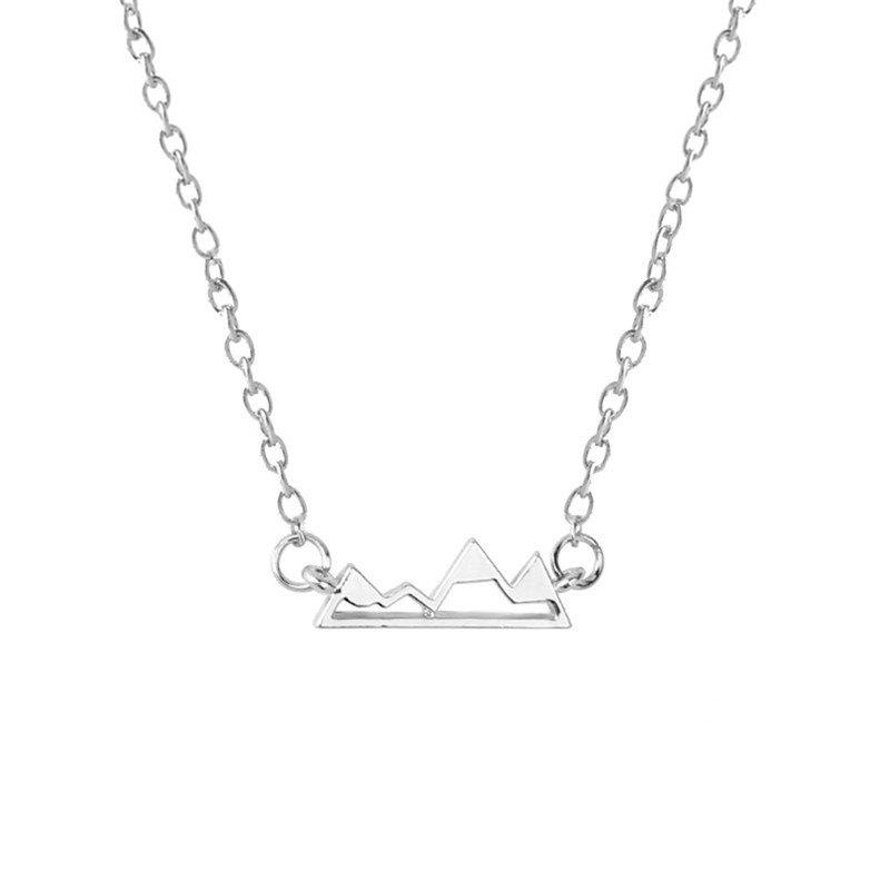 Chic Fashion Women's Peaks Hollow Necklace
