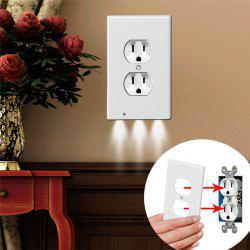 LED Night Angel Wall Outlet Face Hallway Bedroom Bathroom Safty Light -