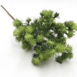 Pine Needle Home Decoration Branch of Artificial Flowers DIY Plant Accessories -