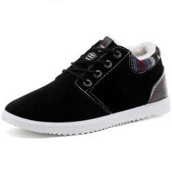 Men'S Casual Padded Warm Cotton Shoes -