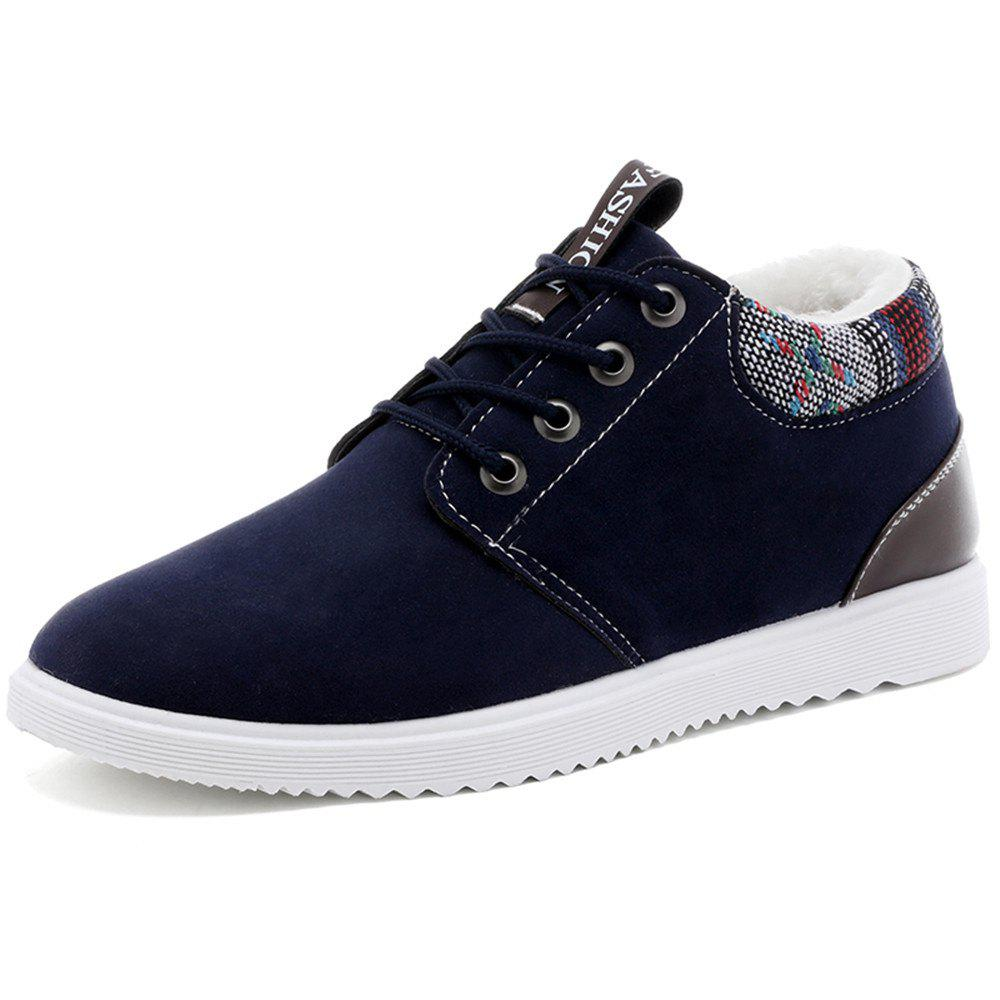 Trendy Men'S Casual Padded Warm Cotton Shoes