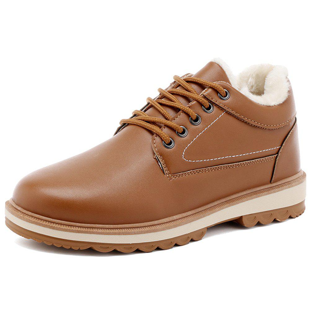 Shop Men'S Warm and Casual Cotton Shoes