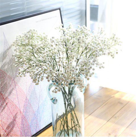 Artificial flowers cheap best discount artificial wedding flowers artificial flower babysbreath bridal bouquet home party wedding decorations mightylinksfo