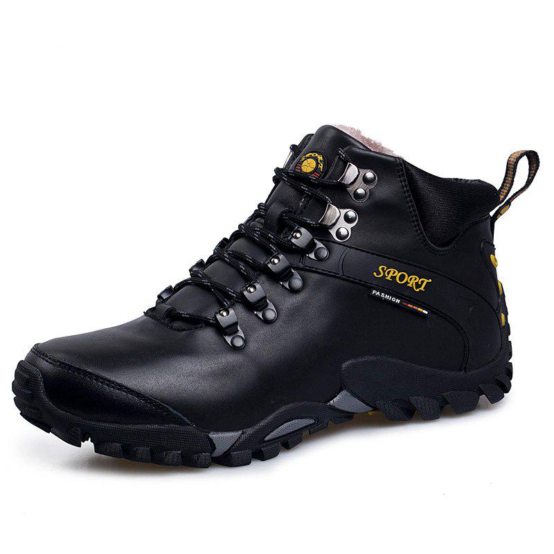 Best Male Warm Wear-Resistant Non-Slip Outdoor Sports Boots Hiking Shoes