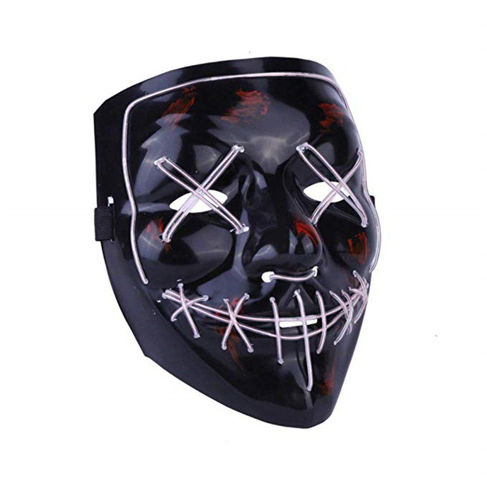 Light Up LED Mask Halloween Scary Mask Costume для мужчин